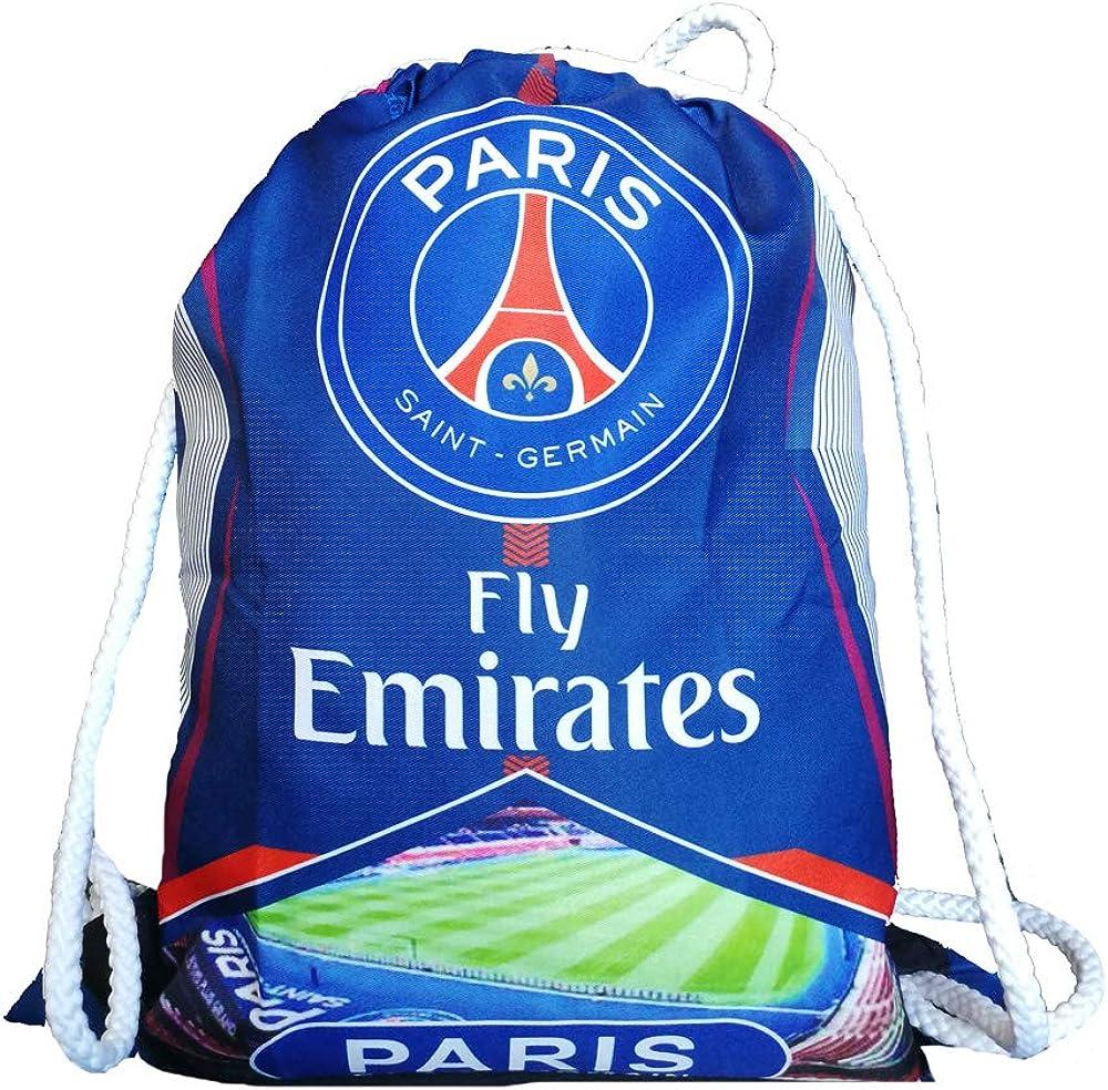 Football Club Sports Drawstring Backpack Gym Bag Shoes Bag Ball Bag for Soccer Fans