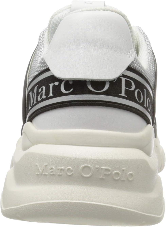 Marc O'Polo 00115503502610, Basket Femme Black Combi 991