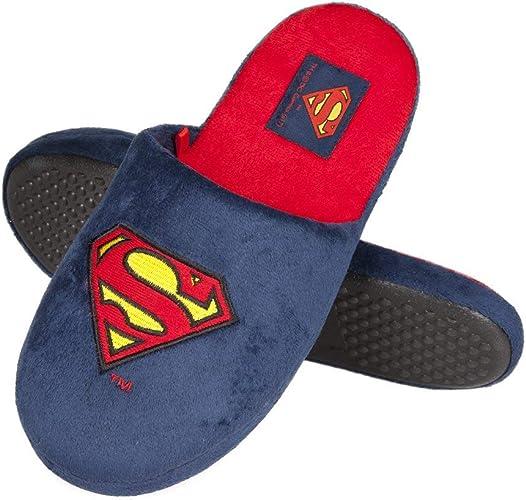 Batman DC Comics Pantofole Originali Ciabatte da casa Calde e Confortevoli per Uomo soxo Pantofole Invernali