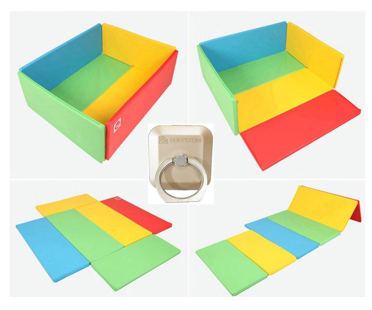 【国内在庫】 Foldaway (rainbow) (フォルダウェイ)幼児折りたたみマット、バンパーマット、ベビーベッド、スタンダードサイズ(並行輸入品) (rainbow) [並行輸入品] [並行輸入品] Foldaway rainbow B0719KVQZ1, 金森金物店:9ce90fd0 --- outdev.net