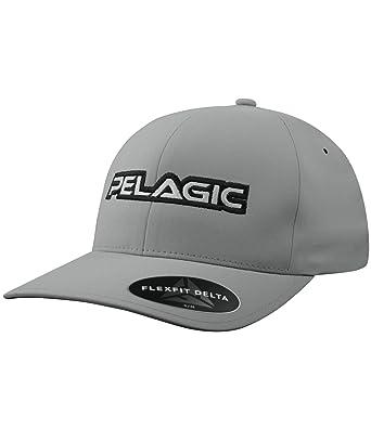 c8f56f547d01e Flexfit Delta Cap Grey at Amazon Men s Clothing store