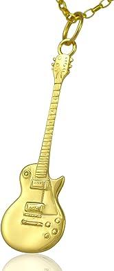 Solid 9ct oro Gibson Les Paul de la guitarra eléctrica - cadena ...