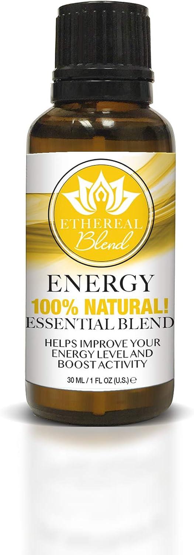 Ethereal Nature Blends 100% Natural Oil, Energy, 1 fl. oz.