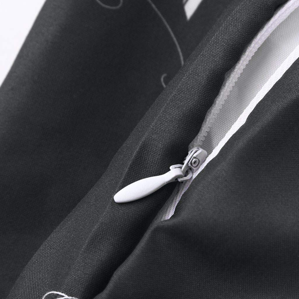 XGao Women Print Winter Convertible Infinity Scarf Loop Zipper Pocket Scarves