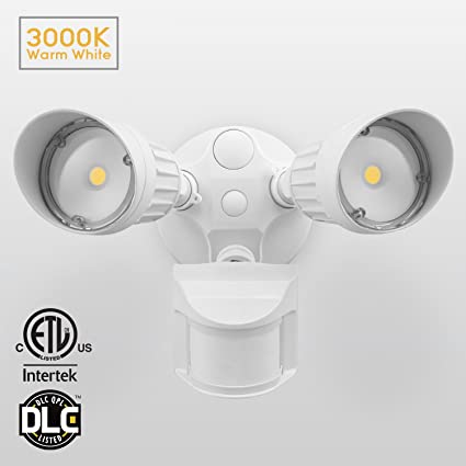 20w dual head motion activated led outdoor security light photocell 20w dual head motion activated led outdoor security light photocell included newly aloadofball Gallery