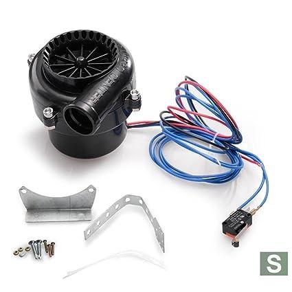 S Fake Válvula de descarga electrónico Turbo Interruptor de sonido analógico BOV Blow Off Válvula Blow Off: Amazon.es: Coche y moto