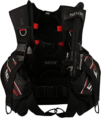 Seac Black Sport Vest For Unisex