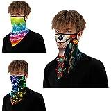 CCidea Balaclava Neck Wraps,Neck Gaiter Face Mask,Balaclava Riding Face Mask,Bandana Face Scarf for Men &Women