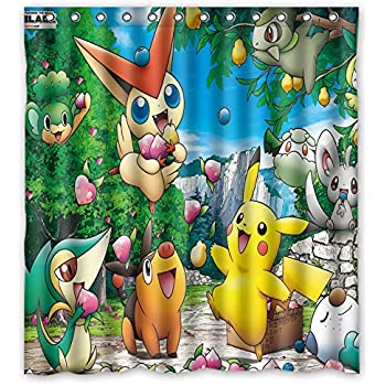 Franco Pokemon Shower Curtain 85OFF
