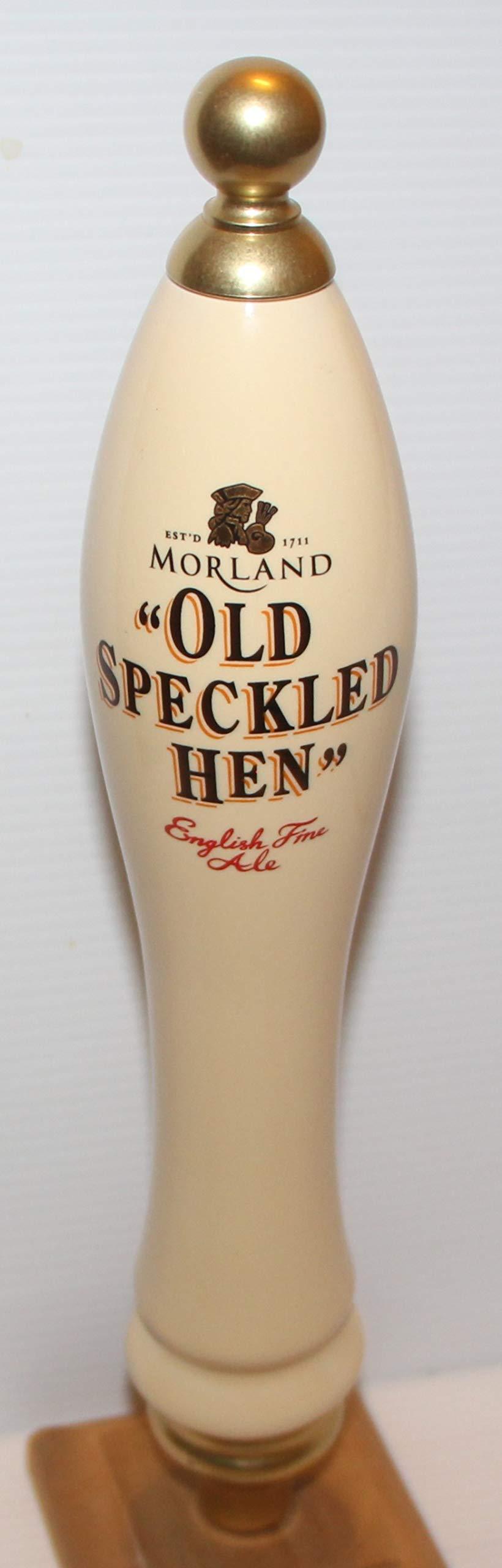 Morland Old Speckled Hen Tap Handle marker knob 12'' pub style