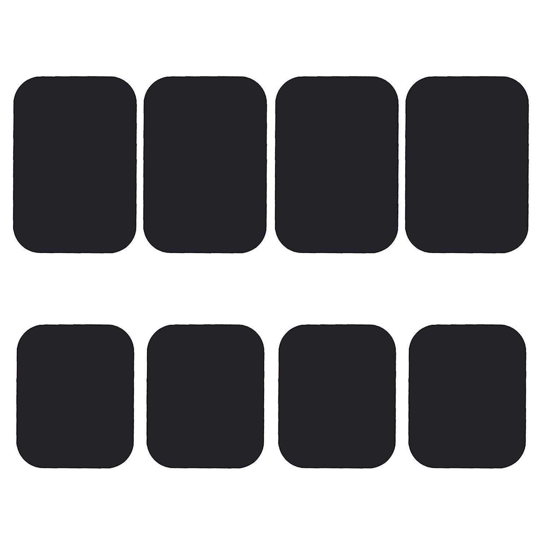 Mount Metal Plate, Best Tek Phone Magnet Sticker, Metal Plate for Magnetic Mount 8 Pack