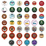 #8: Coffee Variety Sampler Pack for Keurig K-Cup Brewers,  40 Count (selection may vary)