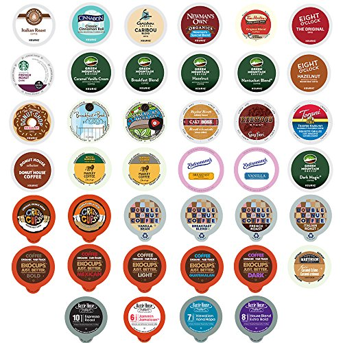 Coffee Variety Sampler Pack For Keurig K Cup Brewers   40 Count  Selection May Vary