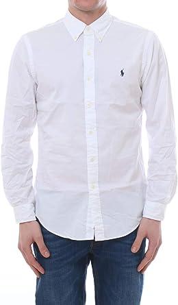 Polo Ralph Lauren Mod. 710792044 Camisa Popelín Stretch Custom Fit ...