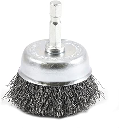 """Forney 72729 Wire Cup Brush Coarse Crimped With 1//4/"""" Hex Shank US SELLER New"""