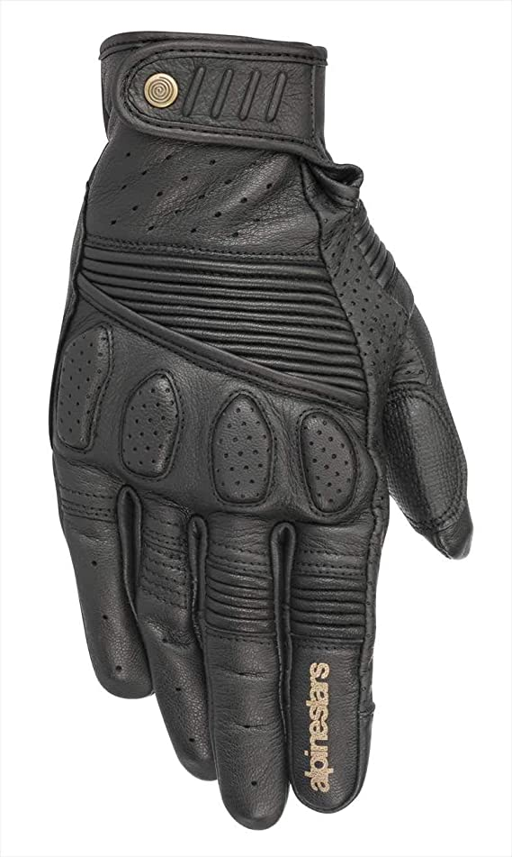Alpinestars Men's Oscar Crazy Eight Leather Street Motorcycle Riding Glove