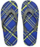 Showaflops Men's Antimicrobial Shower & Water Sandals – Plaid 11/12