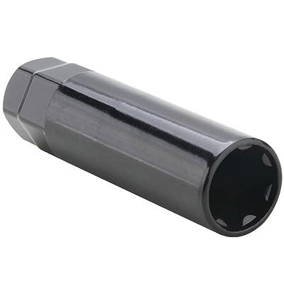 "DCVAMOUS 1pc Spline Lug Nut Socket Wheel Nuts Key for 7-Spline Drive Small Diameter Lug Nuts 21mm 22mm or 13/16"" 7/8"" Hex: Automotive"