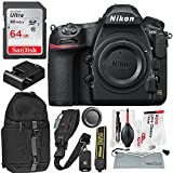 Nikon D850 FX-format Digital SLR Camera Body and Accessory Bundle w/ 64GB + DSLR Sling Backpack + Xpix Shoulder Strap & Pro Cleaning Kit Review