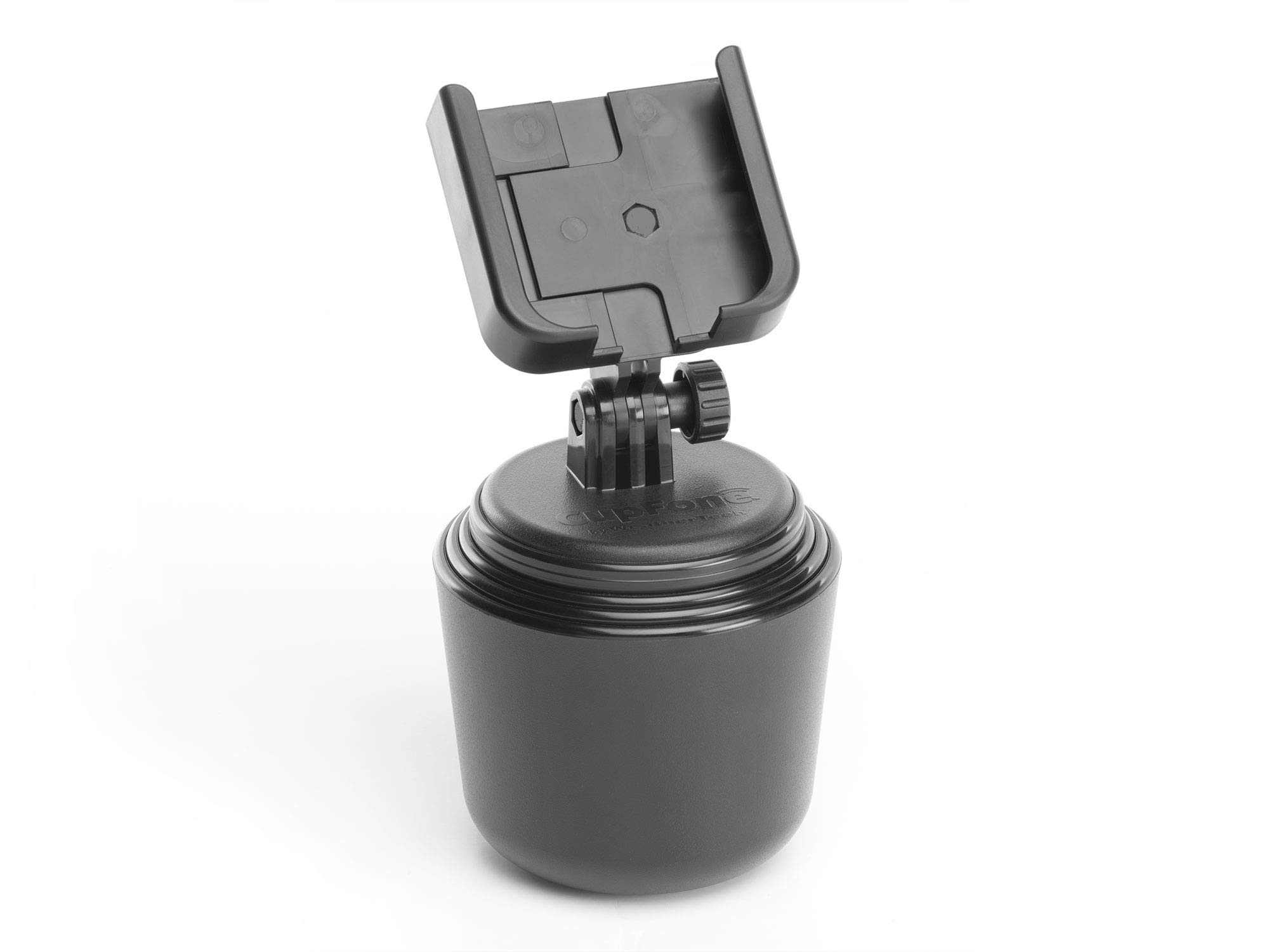 WeatherTech CupFone - Universal Adjustable Portable Cup Holder Car Mount for Cell Phones