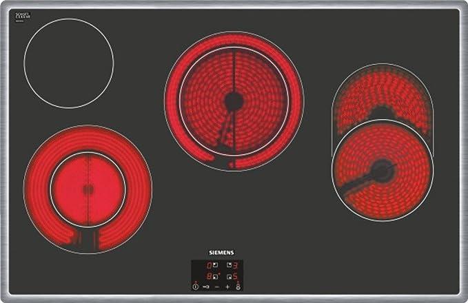 Siemens ET845HH17 hobs - Placa (Incorporado, Eléctrico ...