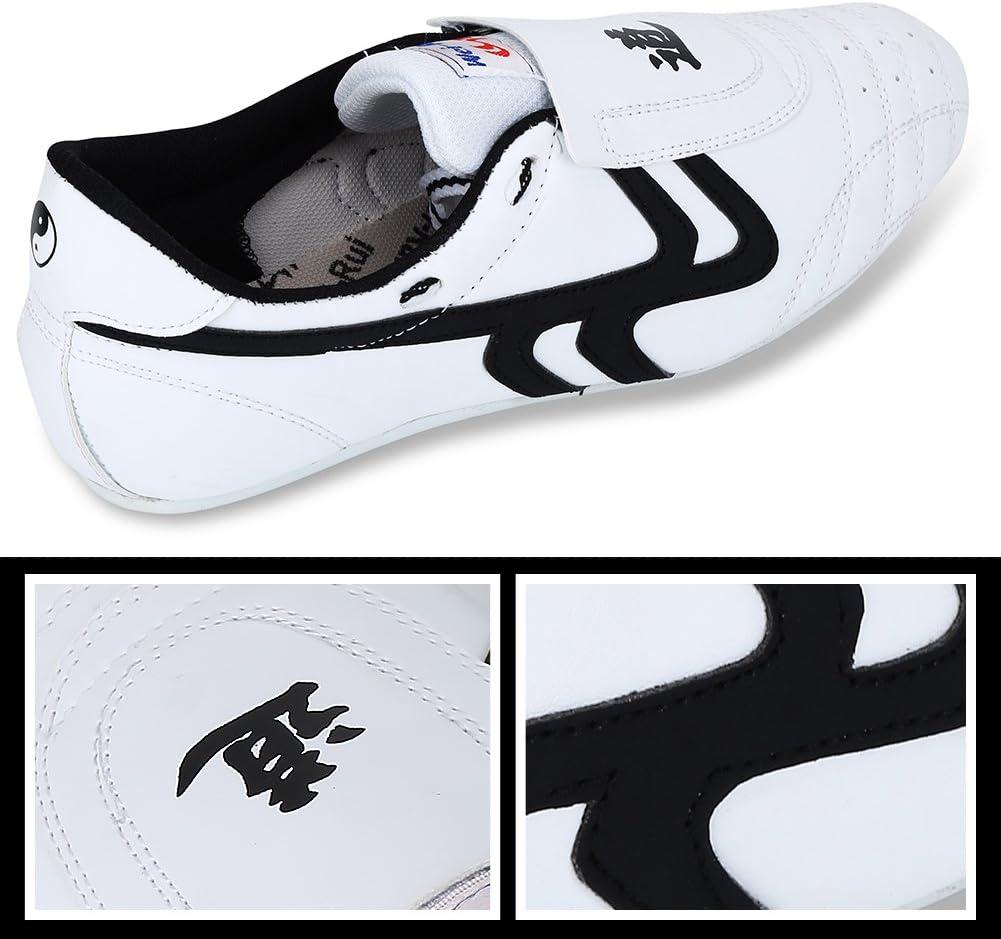 Alomejor Zapatillas Taekwondo Boxing Karate Zapatillas Entrenamiento Taichi Kong Fu Shoes Kung Fu Taichi Taekwondo Boxing Karate