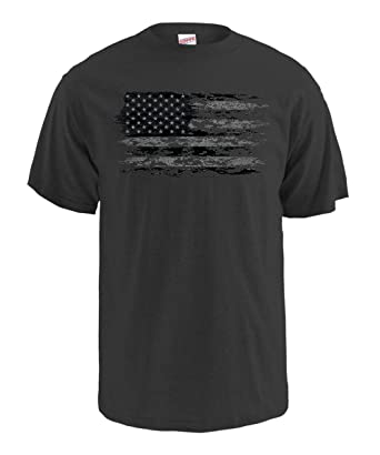 0c1b1614 Soffe Men's American Flag Graphic T-Shirt Americana Collection, Pixelated American  Flag, Small