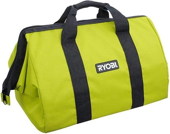 "New Ryobi 12"" x 10/"" x 8"" Heavy Duty Contractors Tool Bag"