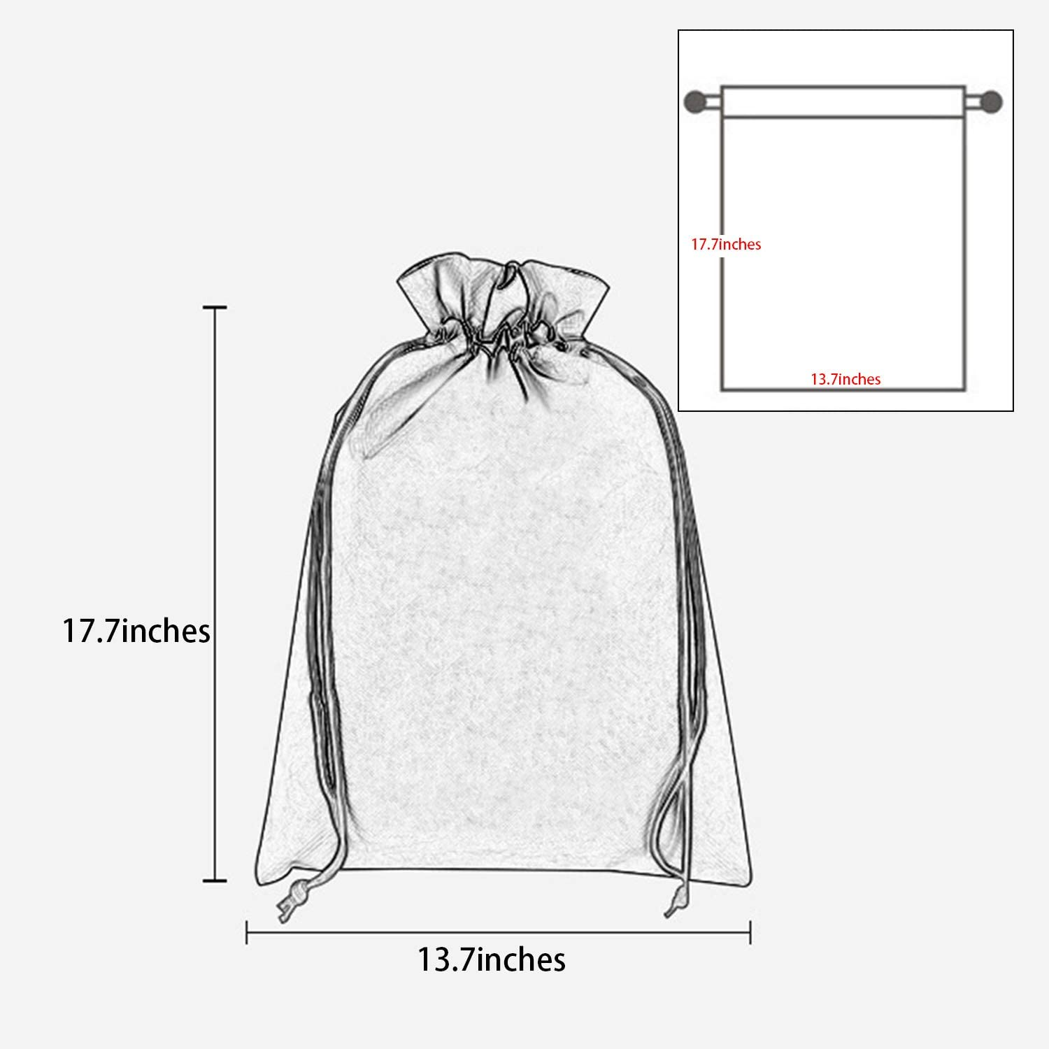 Clear Drawing Backpack Music Logo Decor Dancing Bag Gym Sports Travel Sack pack for Men Women