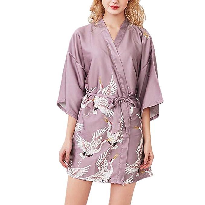 Fansu Kimono Albornoz De Seda Ropa, Mujer Bata Novia Casa De Estilo ...