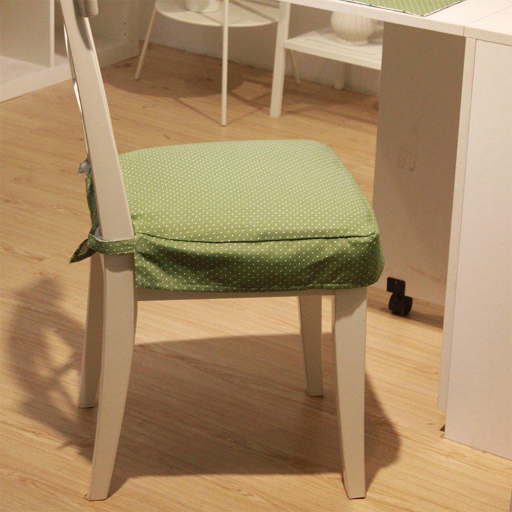 DUAN de Chair Pads Cojín Verde de la Esponja Amortiguador de DUAN Las Cuatro Estaciones-A 6958b8