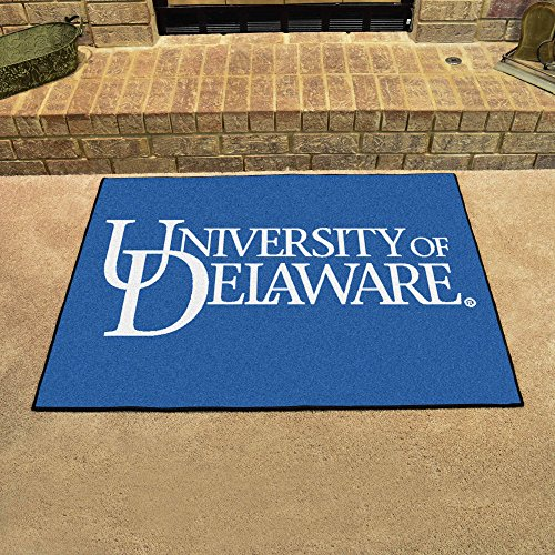 "Fanmats Home Indoor Sports Team Logo Mat Delaware All-Star Rugs 34""x45"""