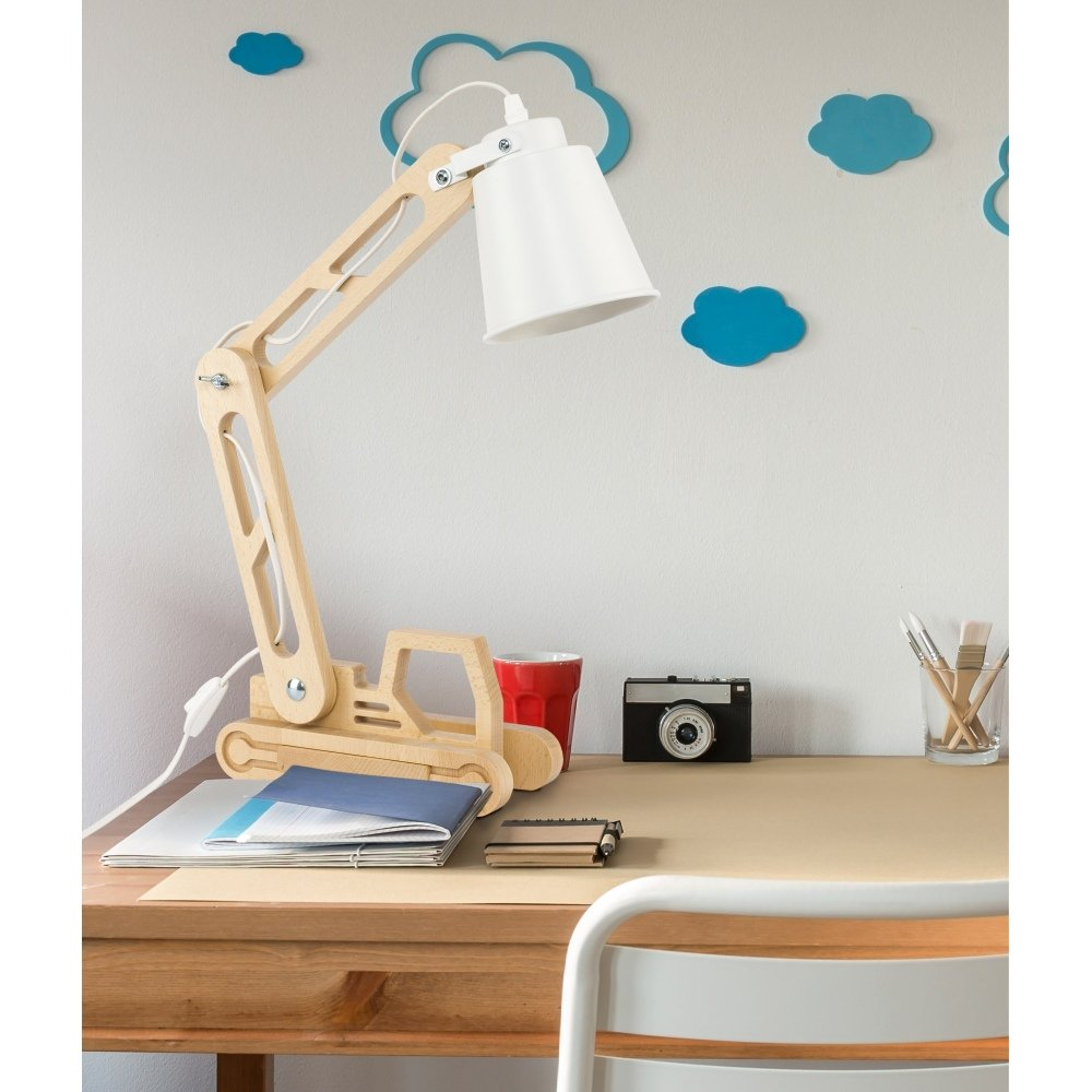 Moderner Schreibtischlampe 1x5W LED FIRE LIFT 2993 TK Lighting