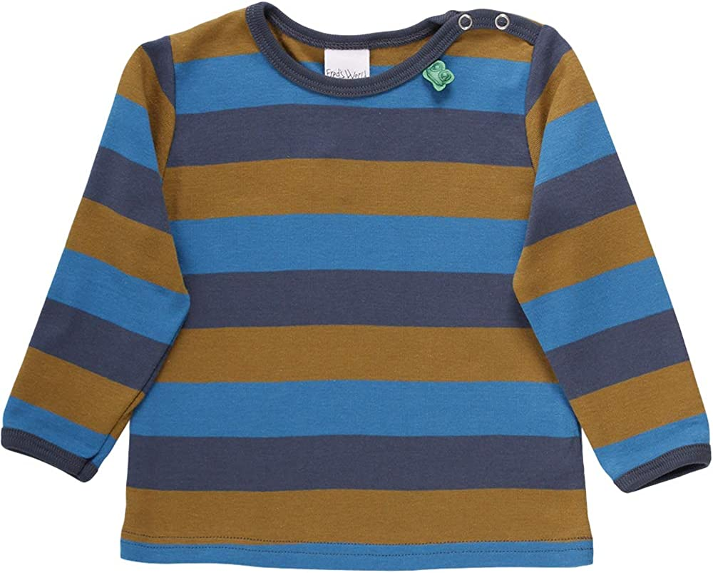 Freds World by Green Cotton Jungen Multi Stripe T Baby T-Shirt