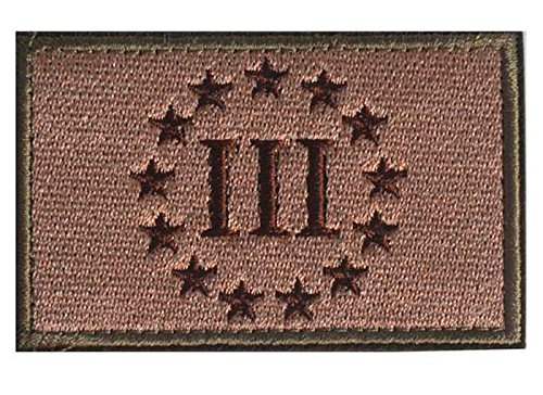 WZT Military Embroidered Tactical Percenter
