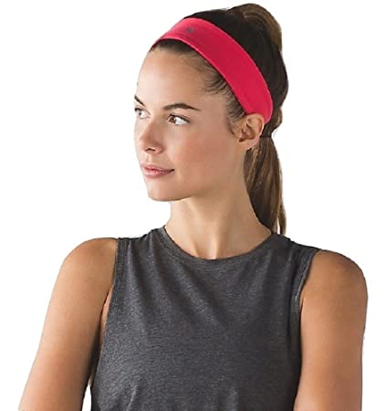 Lululemon Fly Away Tamer Headband II (Lush Coral Red)  Amazon.in  Sports 00018e68065
