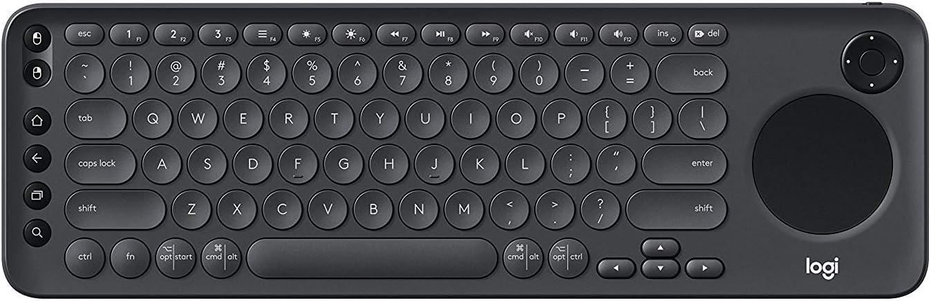 Logitech K600 TV - Teclado de TV con teclado táctil integrado ...