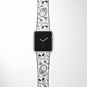Watch Band Compatible with Apple iWatch All Series 38mm 40mm 42mm 44mm Cartoon Design Strap (nbc4) (42/44mm)