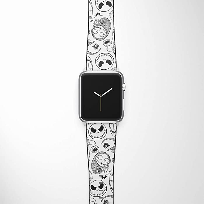 Watch Band Compatible with Apple iWatch All Series 38mm 40mm 42mm 44mm Cartoon Design Strap (nbc4) (38/40mm)