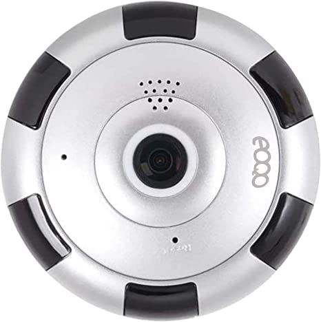 Opinión sobre Cámara de Vigilancia IP HD WiFi IR Vision Nocturna Com con Micrófono y Altavoz Detección de Movimiento Sonido Alarma Inalámbrico para Puerta Compatible con iOS y Android(Plata)