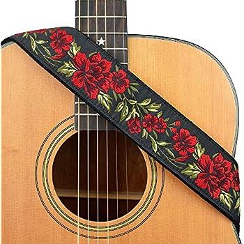 Buckle-Down 2 Inches Wide Guitar Strap GS-WDY223 Steamboat Willie Scene Blocks White//Black