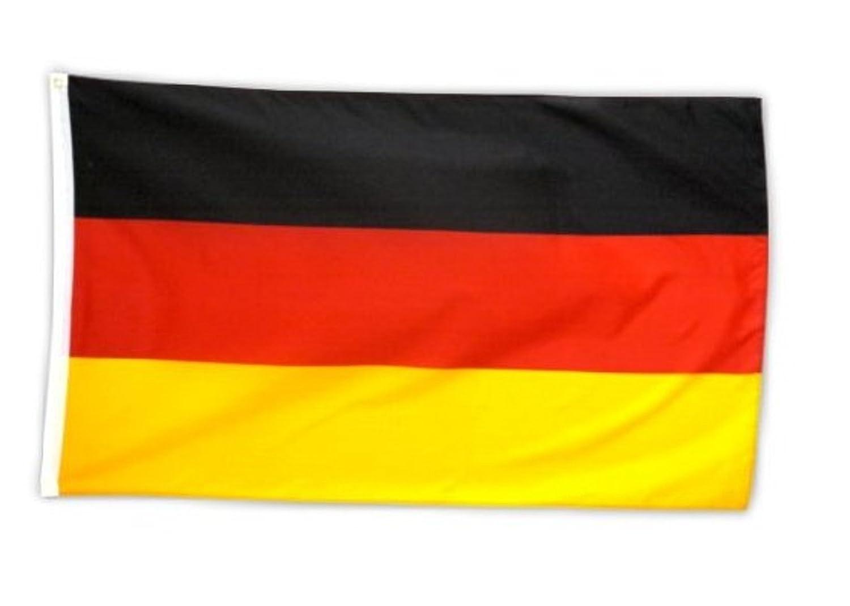 Deutschland Fahne deutsche National Flagge BRD 150 x 90 cm mit Schlaufe