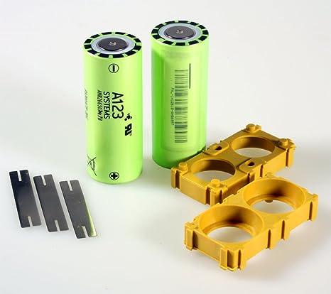 Self Made batería de tanque{2} de células A123 sistema LiFePo4 ANR ...