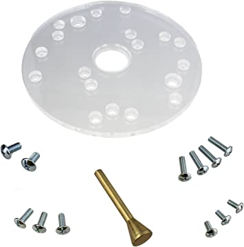 Universal Router Plate For Porter Cable® Type Template Guides