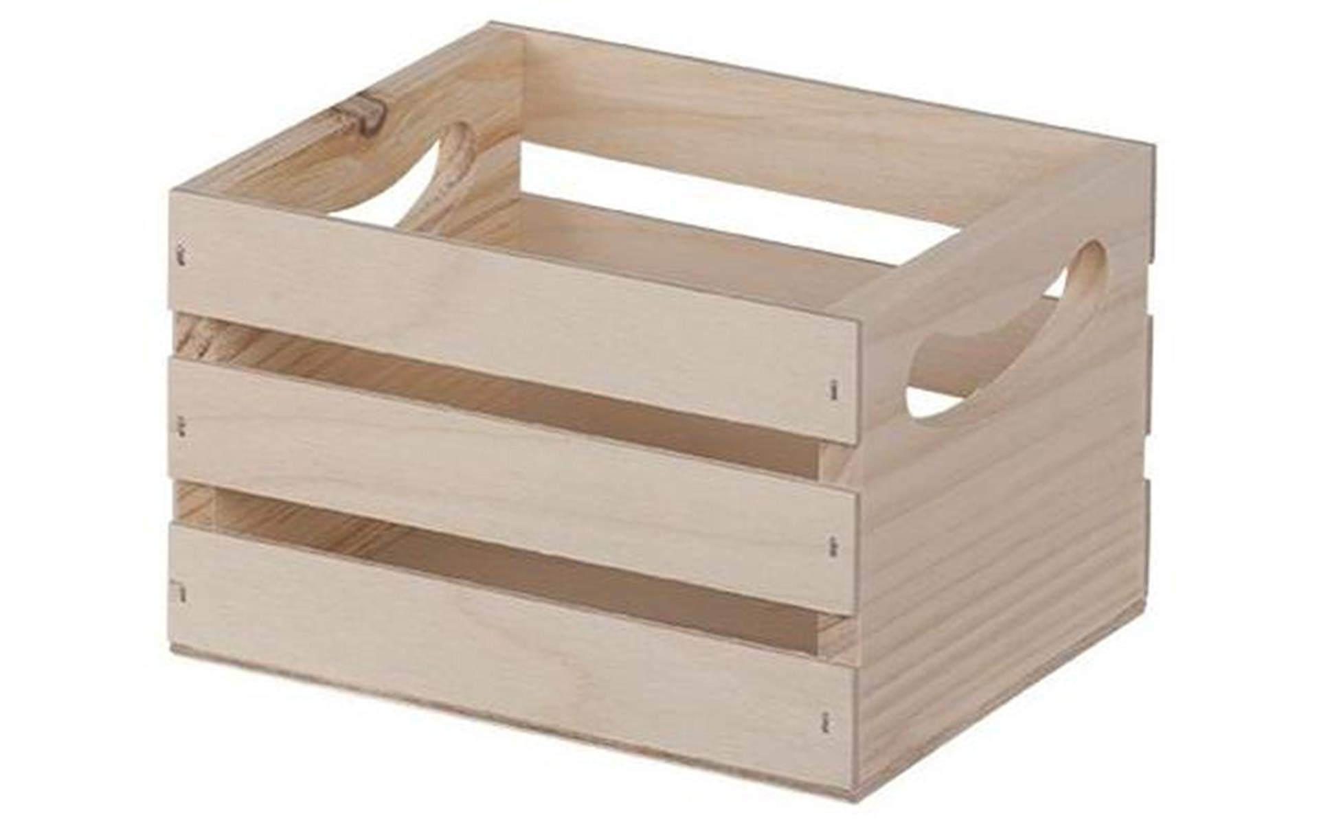 Walnut Hollow 23873 6.5 by 5.3 by 4.25-Inch Crate, Mini