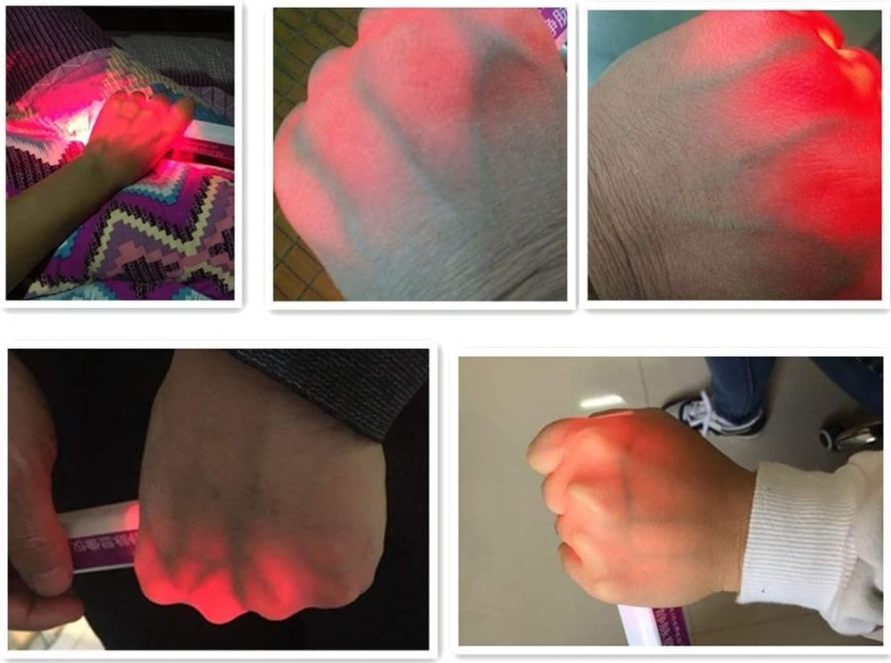 TTZ Handheld Infrared Vein Finder Viewer Portable Medical Infrared Vein Locator Illumination Visualization Lights Detector for Nurses Doctor Phlebotomy viewer