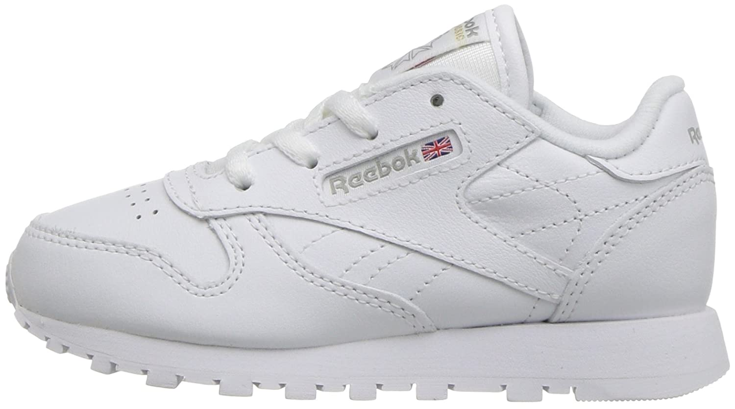 Reebok Infant//Toddler Classic Leather Sneaker