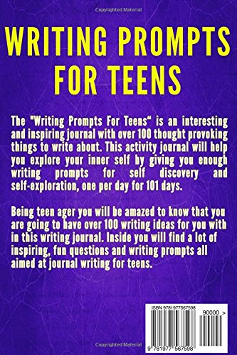 writing prompts for troubled youth