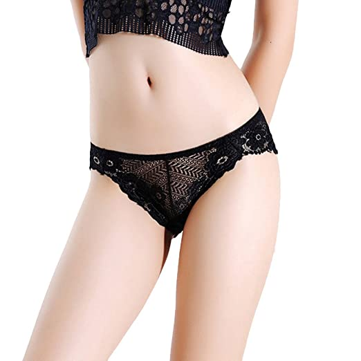 ea892af78293f8 Ghazzi Sexy Lingerie for Women for Sex, Women's Lace Lingerie See-Through Underwear  Briefs