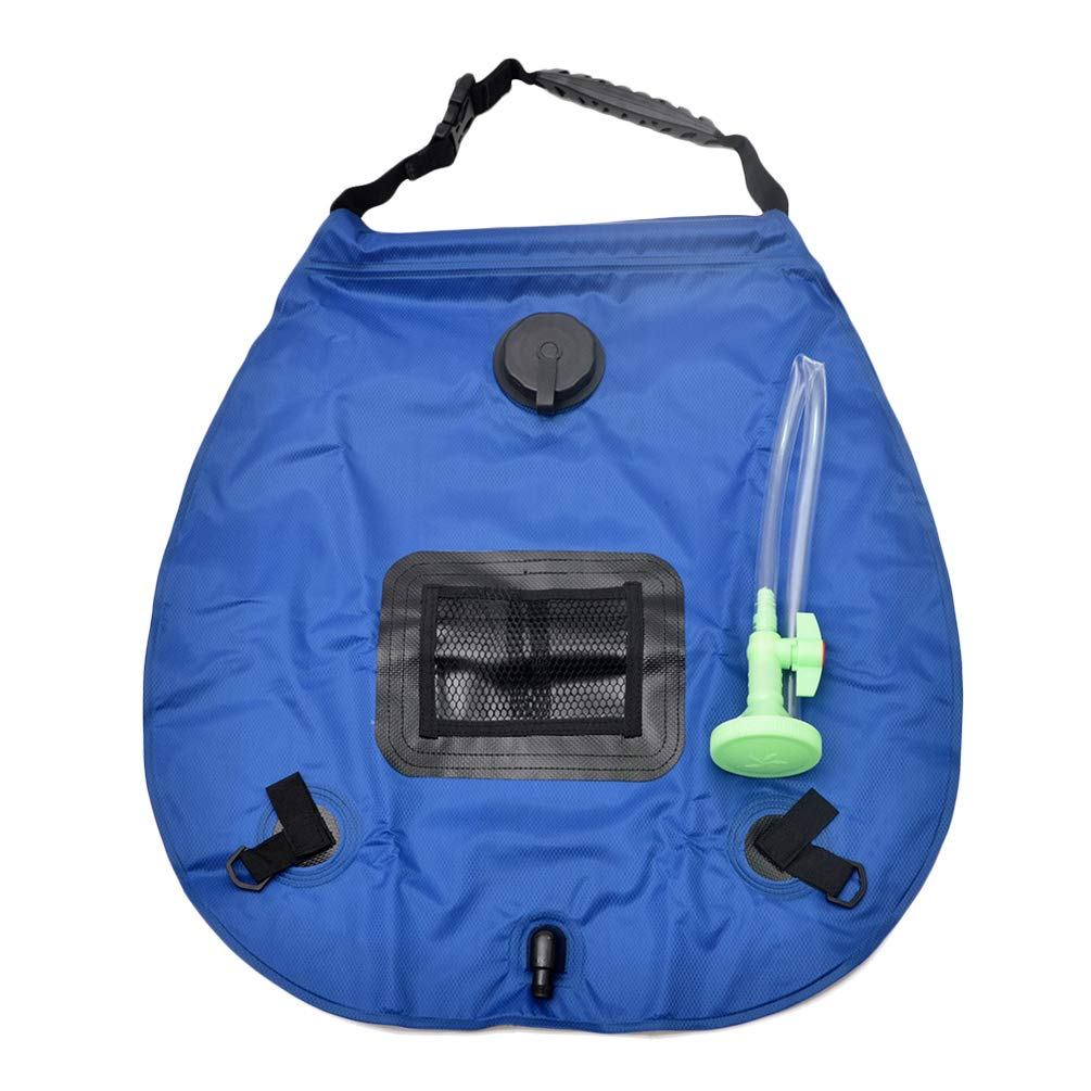 20L Large Capacity Portable Foldable PVC Environmentally Friendly Outdoor Camping Shower Bag Water Heater Bag by Lin-Tong